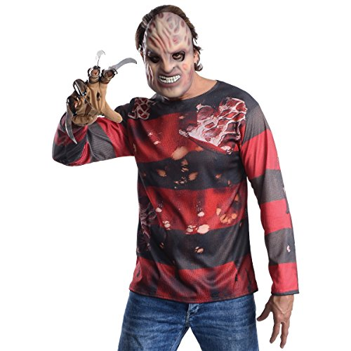 Rubie's Men's Nightmare On Elm Street Freddy Costume Kit, Multicolor, Standard]()
