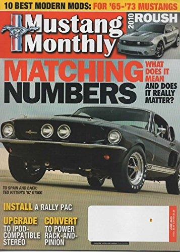 Mustang Monthly Magazine, June 2009 (Vol. 32, No. 6)