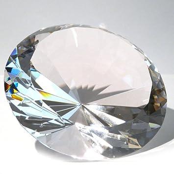 Deko Diamanten Groß.Vevendo 15 Cm Glasdiamanten Mit 96 Facetten Als Deko Diamant Glas Diamant In Klar