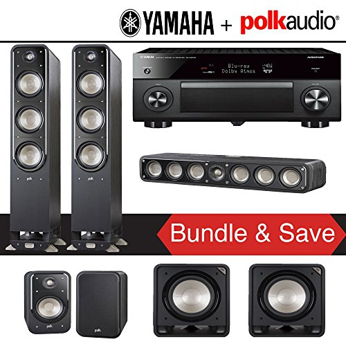Polk Audio Signature S60 5.2-Ch Home Theater Speaker Package