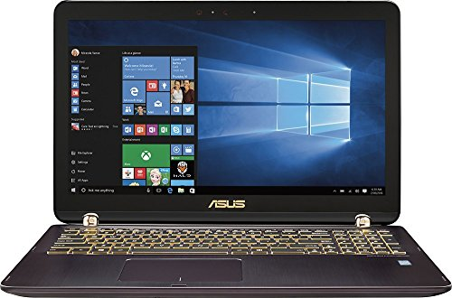 2016 Newest Asus 2-in-1 15.6' Touch-Screen FHD Laptop, Intel Core i7-6500U 3.1GHz, 12GB RAM, NVIDIA GeForce 940MX 2GB, 2TB HDD, Bluetooth, HDMI, Backlit keyboard, HD Webcam, Win10- Chocolate aluminum
