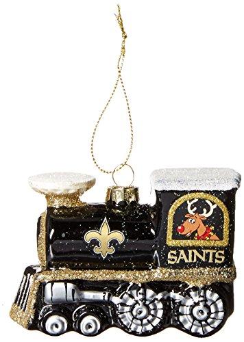 NFL New Orleans Saints Train Ornament