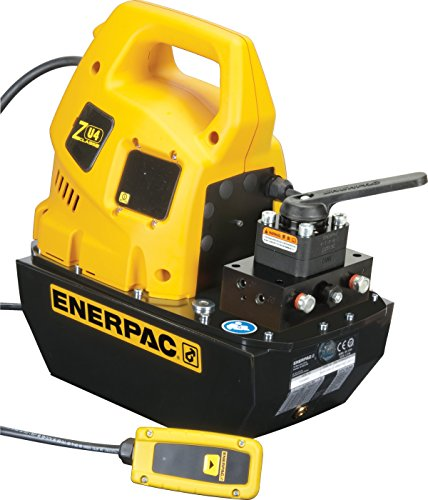 Enerpac ZU4408JB Universal Electric Pump with VM43 Jog Valve Standard 115V and 8 L Usable Oil Capacity by Enerpac
