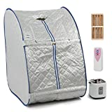 Eminentshop Christmas Home Portable Steam Sauna Tent Slimming Full Body Spa Therapy Detox Loss Weight