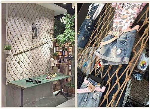 麻ロープ壁の装飾ネット、フォトネットネットホテルディスコ天井天井net10mm / 12センチメートル服をぶら下げ 10mm 2*9m