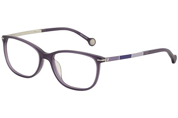 5246e418bb Carolina Herrera Designer Eyeglasses VHE670K-0903 in Purple 53mm DEMO LENS