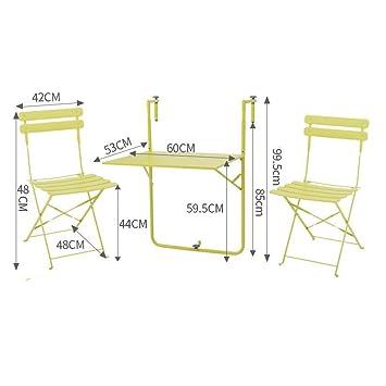 Zhuozi Fufu Wandhalterung Balkon Tische Und Stuhle Klappdeck Tisch