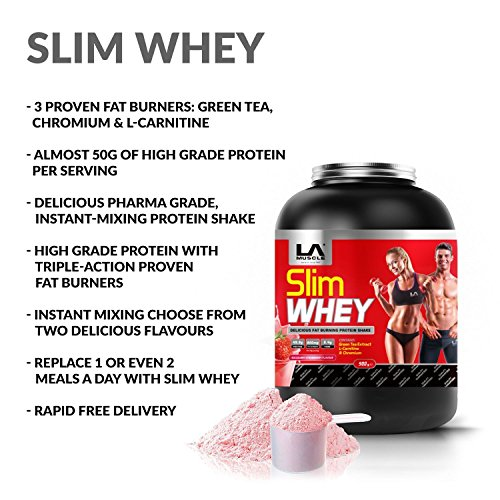 - LA Muscle Slim Whey (908 Gram Chocolate)