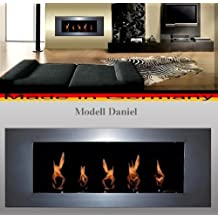 BIO ETHANOL FIREP PLACE MODEL DANIEL - Choose from 6 colors (Chrome/Silver) by Gel + Ethanol Fire-Places