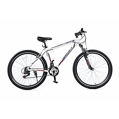 ZOYO Mountain Bike Black White Mountain Bike 27.5 Bike 26 Bicycle Hybrid Bikes Men's women's Mountain Bike Shimano 21 Speed Aluminum Frame