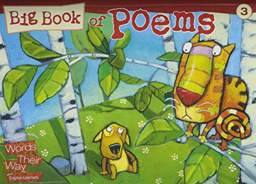 WORDS THEIR WAY ENGLISH LANGUAGE LEARNER BIG BOOK OF POEMS LEVEL 3 2009C (Words Their Way with English Learners)