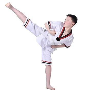 Haodasi - Traje de Taekwondo para Adultos, de Manga Corta ...