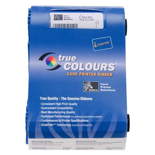 - Zebra 800015-902 True Colours Red Monochrome Ribbon for Zebra P100i, P110i, P110m and P120i ID card printers. 1,000 Prints.