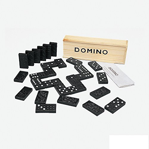 Fun Express Wooden Classic Dominoes