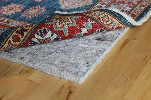 "Rug Pad USA, 1/4"" Thickness,  5'x7', Eco Plush Felt Rug Pads- Preserve Rug, Protect Floor"