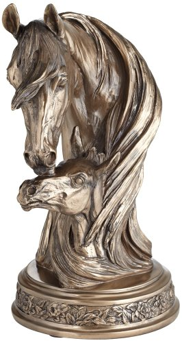 Bronze Horse - Kensington Hill Mare and Filly Horses Golden Bronze 13