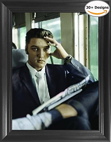 Elvis Home Decor - Elvis Presley Framed 3D Lenticular Picture - 14.5x18.5