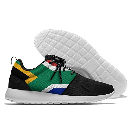 Flag Of South Africa Fashion Comfortable Sports Running Shoes Leisure Sport Shoes For Men by GoOutdoor