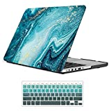 iCasso MacBook Retina 15 inch Case Matte Art Printing Hard Shell Protective Cover for MacBook Pro15 inch Retina Model A1398 - River Sand