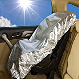 Car Seat Sun Shade,Alotpower Children Safety Seat UV Protection Cover for Kids