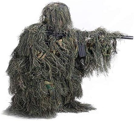 Amazon.com: LUCKYYAN - Traje de camuflaje 3D, ropa de ...