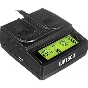 Amazon.com: Batería tipo Watson Duo – Cargador con ...