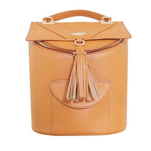 Bolso De Hombro Mochila De Damas De Moda OrangeAndYellow