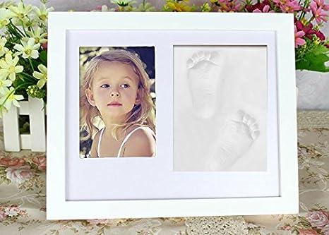 somore bebé recién nacido de recuerdos para bebé, diseño de huella y ...