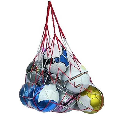- TD-OUTGO 1pcs Outdoor Sporting Soccer Net 10 Balls Carry Net Bag Volleyball Football Balls Net Bag Sports Portable Equipment New