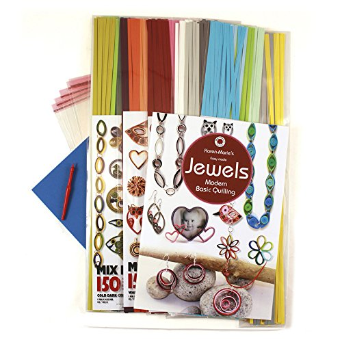 Karen Marie Klip: Jewels Quilling Kit, Big Starter Kit by Karen Marie Klip Papirmuseets By A/S