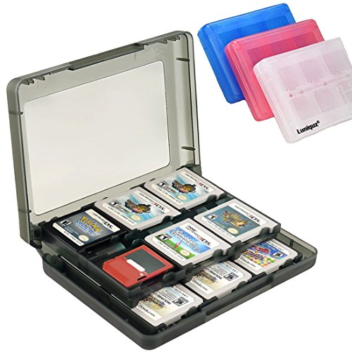 - Luniquz 26 in 1 DS Game Holder Game Card Carry Case for Nintendo DS, DS Lite, 3DS, New 3DS, Dsi, Dsi XL/Black