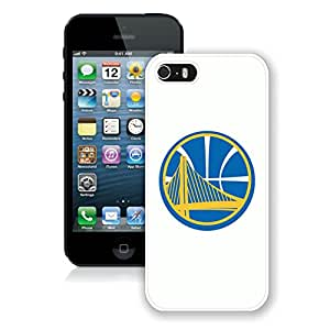 New Custom Design Cover Case For iPhone 5s Generation golden state warriors 7 White Phone Case