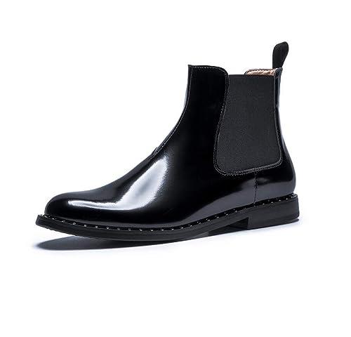 Botas de Mujer Martin Botines Negros de Moda de Estilo británico de otoño e Invierno: Amazon.es: Zapatos y complementos