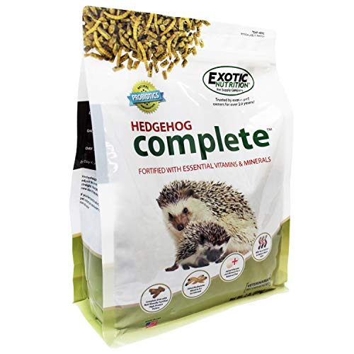 2 Lb Rabbit Food - Exotic Nutrition Hedgehog Complete 2 lb - High Protein Hedgehog Food
