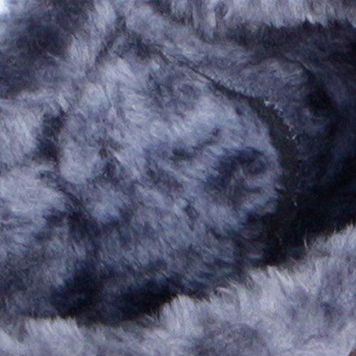 Lining Women Black Snow Winter Stunner Boots Shoes Fur Slip Warm Ankle Thickening On BqxAYFw