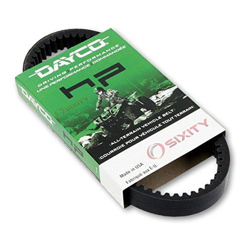 [2005-2009 Kawasaki Brute Force 750 Drive Belt Dayco HP ATV OEM Upgrade Replacement Transmission Belts] (Kawasaki Brute Force Atv)