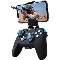 Maegoo Mando Android/PC/PS3, Bluetooth Inalámbrico Mando Android Móvil Game con Soporte Retráctil, 2.4g Inalámbrico PC…
