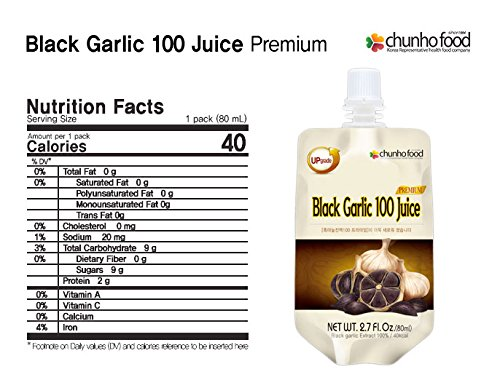 (Special Promotion) Chunho Food Black Garlic 100 Premium Juice by Chunho Food