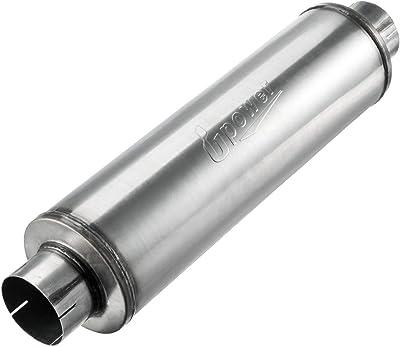 Upower Inlet Steel Muffler