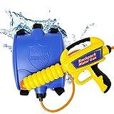 Billion Deals Children's Outdoor Party Beach Backpack Water Gun Pull-Type Water Gun Sprayer Toy with Large Capacity Summer Water Gun Kids Gift