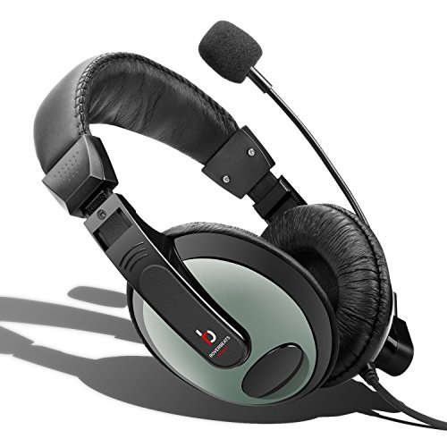 Etekcity Professional Lightweight Headphones Microphone