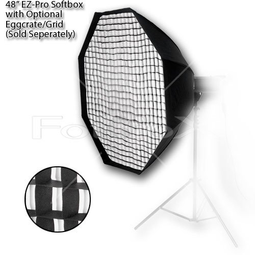 Fotodiox EZ-Pro Octagon Softbox 48'' with Speedring for Bowens Gemini Standard, Classica Powerpack, R, RX & Pro Series Strobe by Fotodiox