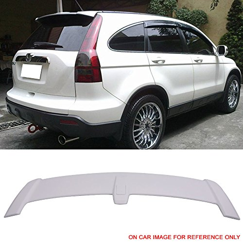 oiler Fits 2007-2011 Honda CRV | OEM Style Painted Taffeta White #NH578 ABS Car Exterior Trunk Spoiler Rear Wing Tail Roof Top Lid other color available by IKON MOTORSPORTS (Oem Rear Spoiler)