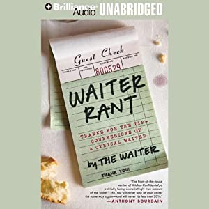 Waiter Rant Audiobook
