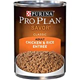 Purina Pro Plan Pate Wet Dog Food, SAVOR Chicken &...