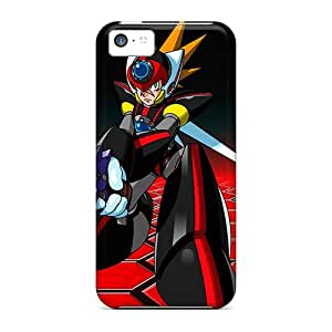 Iphone 5c Hard Case With Awesome Look - BWOLFjsw2464
