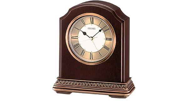Amazon.com: Seiko Classic Table Clocks QXE018B wall clock: Home & Kitchen