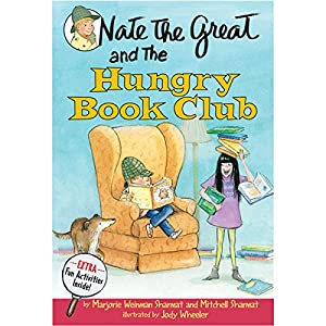 Nate the Great and the Hungry Book Club Audiobook