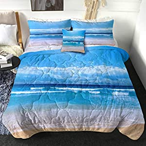 51O-fgFMS6L._SS300_ Coastal Comforters & Beach Comforters
