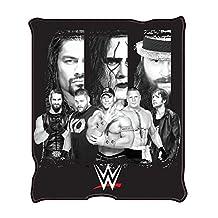 """WWE WE0621 All Stars Fleece Throw Blanket, 50 x 60"""""""